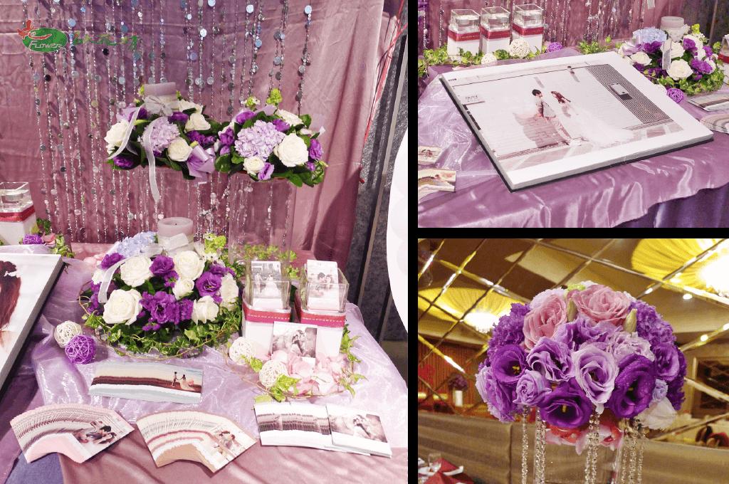 婚禮會場布置推薦|台中名人花坊專業婚禮花藝