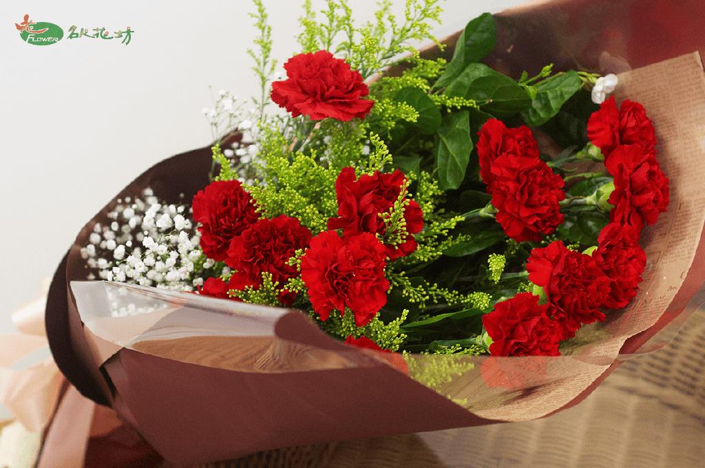 母親節送花推薦|名人花坊網路訂花|母親節花束優質手選