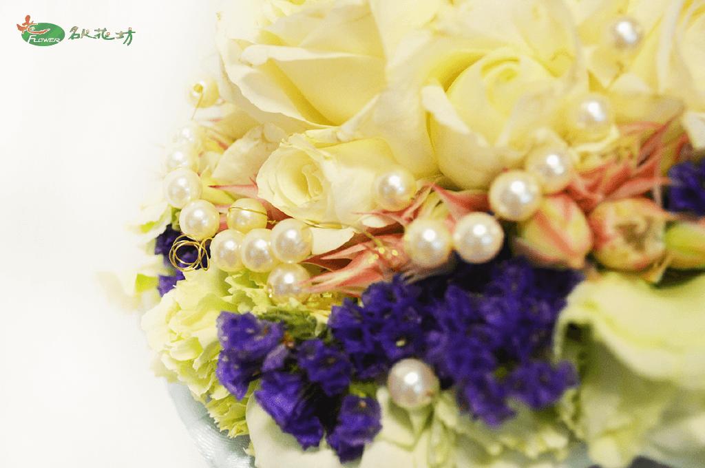 最高品質的婚禮捧花選擇台中名人花坊|新娘捧花客製化的好選擇|婚禮捧花推薦