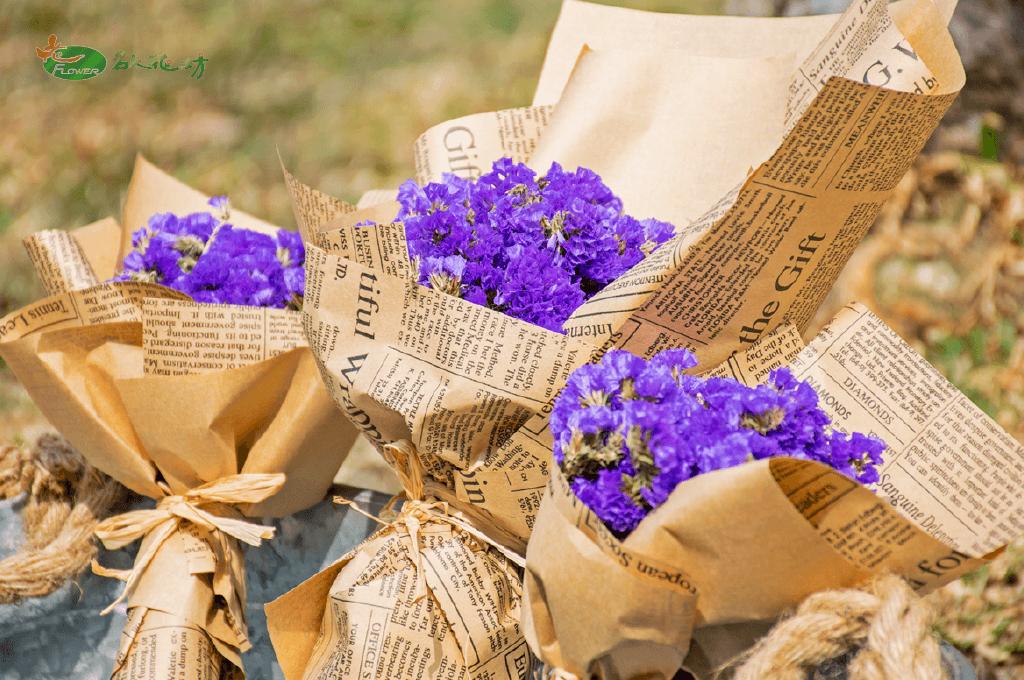 韓式乾燥花畢業花束|畢業典禮送花推薦|乾燥花束首選